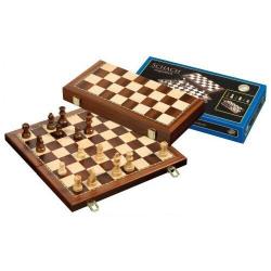 Nr.: 2614 Schach, magnetisch, Feldgröße 42 mm - 2614 Philos Spiele