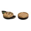 Nr.: 2727 Schach, magnetisch, rund Feldgröße 25 mm - 2727 Philos Spiele