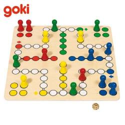 Nr.: 56033 Brettspiel Ludo mit extra großem Spielfeld - GoKi