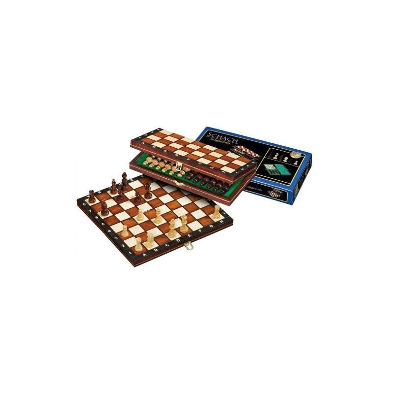 Nr.: 2701 Schach, magnetisch, Feldgröße 30 mm - 2701 Philos Spiele