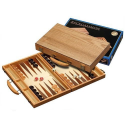 Nr.: 1110 Backgammon Kreta mittelgroß - 1110 Philos Spiele