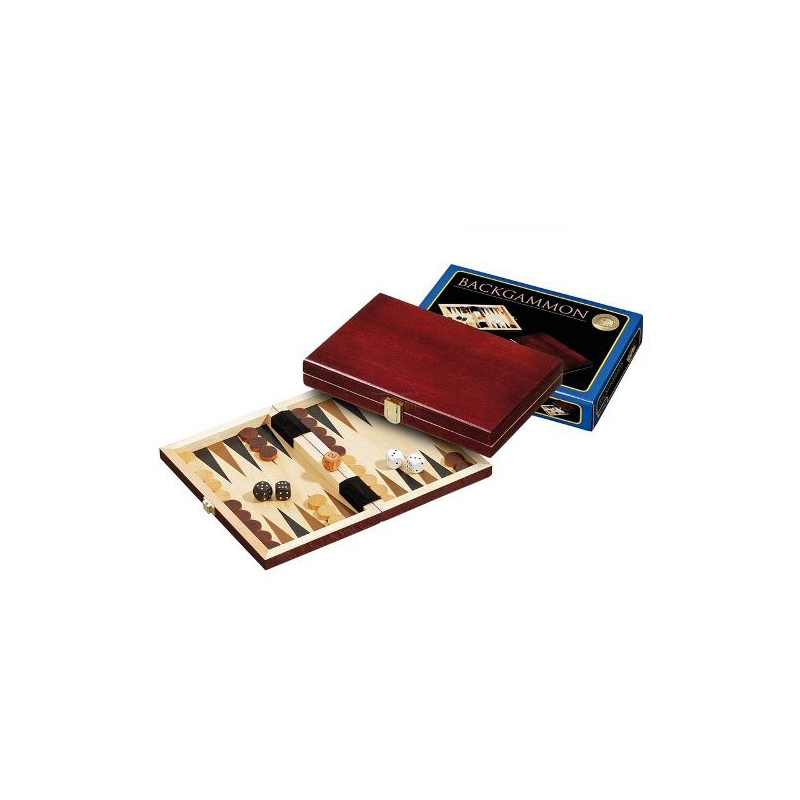 Nr.: 1100 Backgammon Saloniki mini - 1100 Philos Spiele