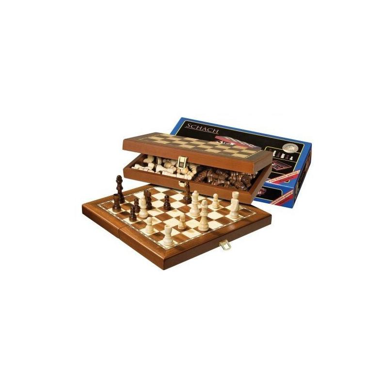 Nr.: 2712 Schach, magnetisch, Feldgröße 30 mm - 2712 Philos Spiele