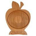 Nr.: 1110 faltbarer Obstkorb Apfel - Holzladen24.de