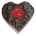 Nr.: 3159 Teelichthalter in Herzform - Holzladen24.de