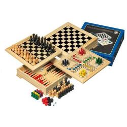 Nr.: 3104 Holz-Spielesammlung für die Reise - 3104 Philos Spiele