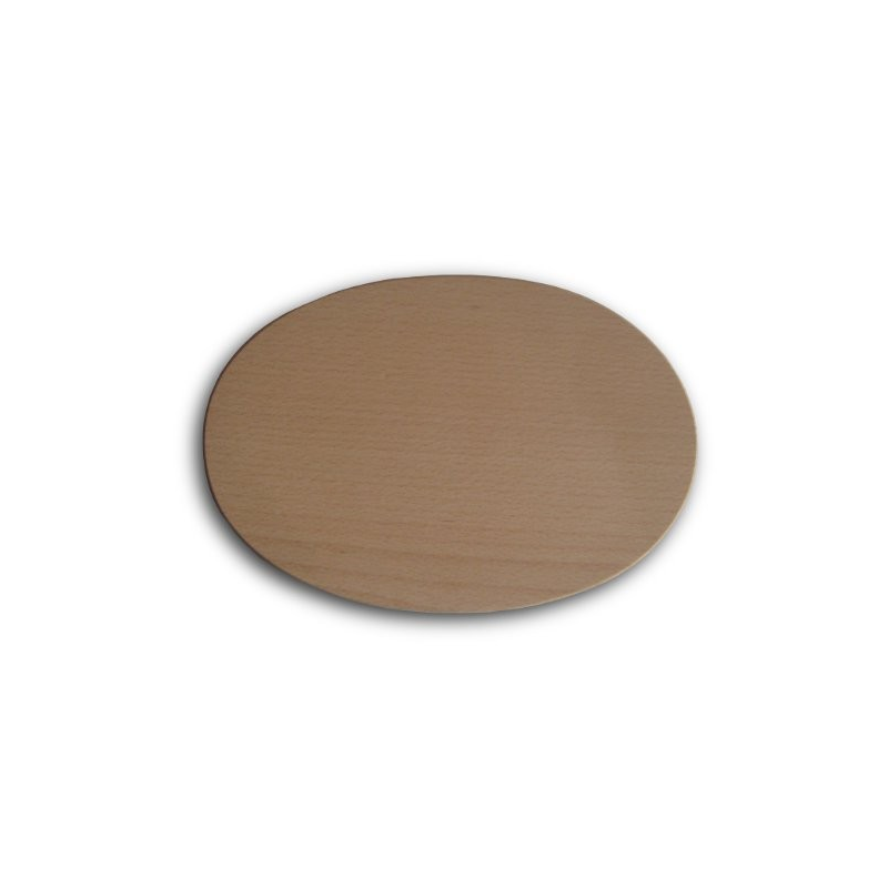 Nr.: 11065 Holzbrettchen - oval - Holzladen24.de