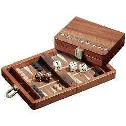 Nr.: 1301 Backgammon Egina klein - 1301 Philos Spiele