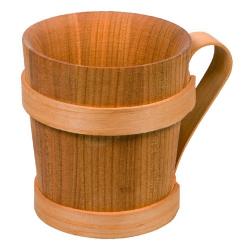 Nr.: 20231 Kelch aus Holz ca. 0,5l - Humpen - Holzladen24.de