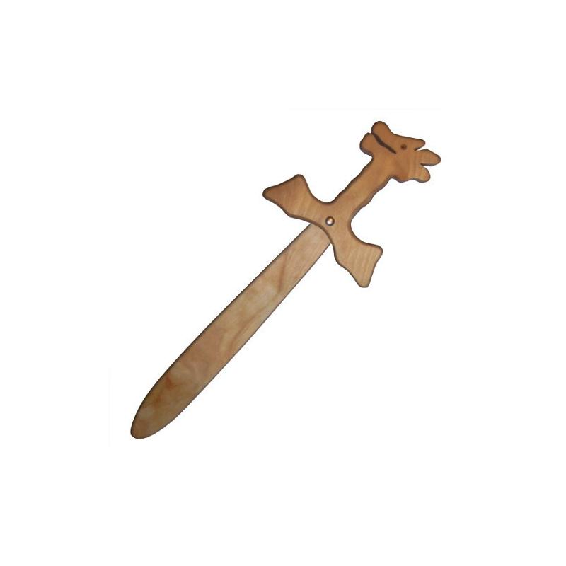 Nr.: 31912 Kleines Drachenschwert aus Holz - Holzladen24.de