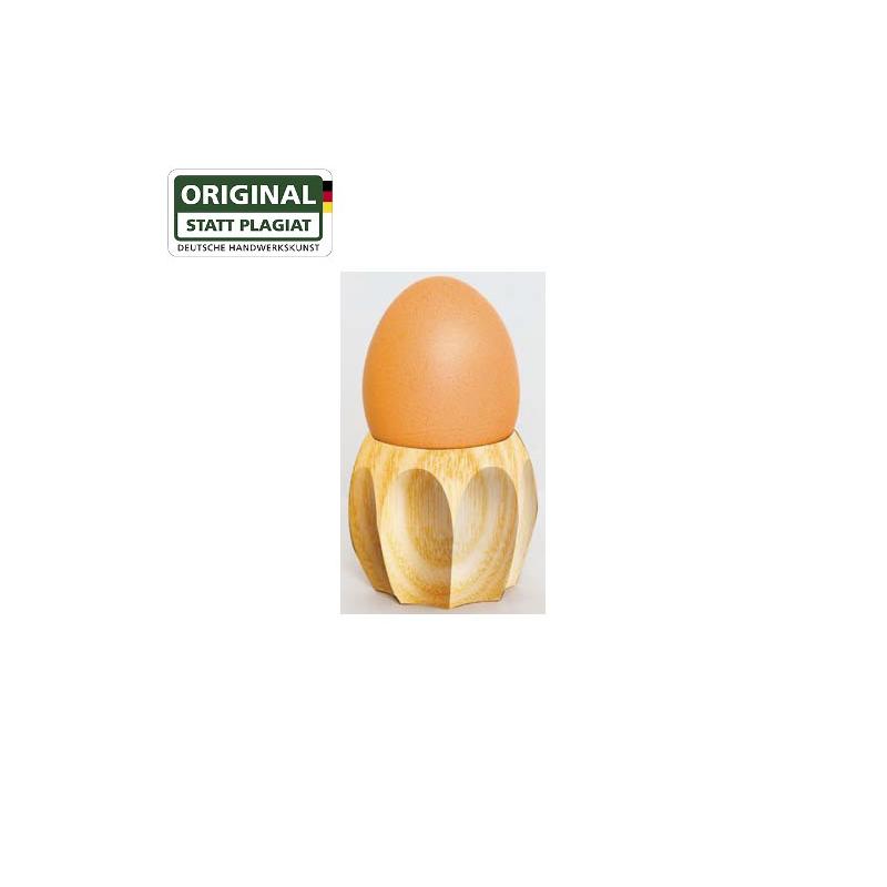 Nr.: 40028 Eierbecher aus Eschenholz - Drechslerei Kuhnert