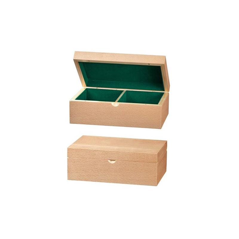Nr.: 4634 Schachfigurenbox aus Buchenholz - 4634 Philos Spiele