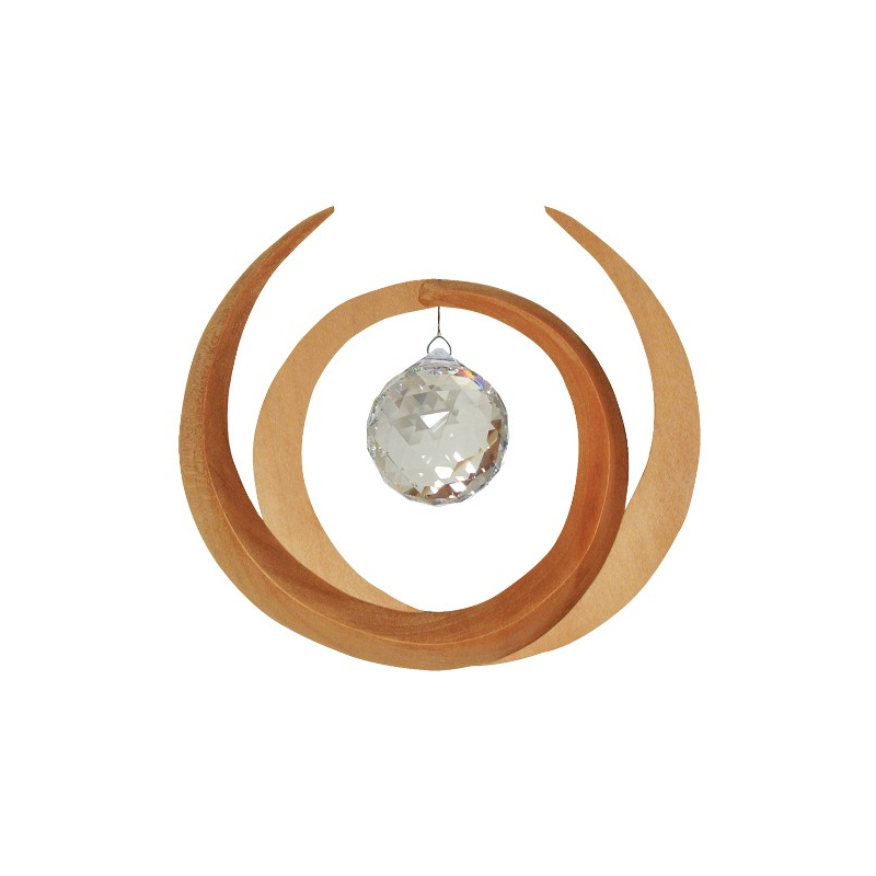Mondsymbol Nepal mit Kristallperle