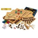 Nr.: 3101 Große Holz-Spielesammlung 100 Premium - 3101 Philos Spiele