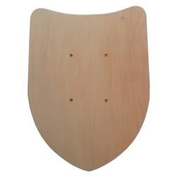 Vorderseite 2136 Einfacher Wappenschild - Holzladen24.de 2136