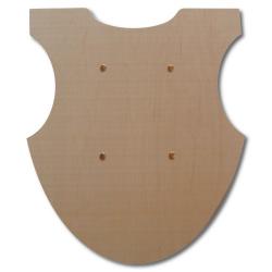Vorderseite 2135 Einfacher Turnierschild Holzladen24.de 2135