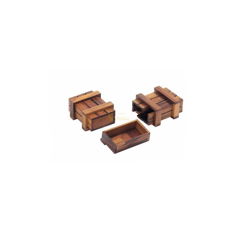 Nr.: 6018 Schatztruhe aus Holz - 6018 Philos-Spiele