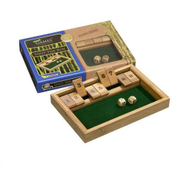 Nr.: 3270 Shut The Box 9er aus Bambus - 3270 Philos Spiele