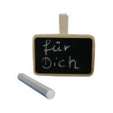 Nr.: 5282542 Mini Memotafel mit Kreide- Holzladen24.de blackboard