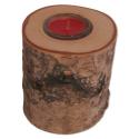 Nr.: 3163 Teelichthalter aus einem Holz-Rundling - Holzladen24.de TU-3163