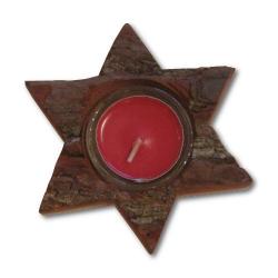 Nr.: 3158-1 Teelichthalter in Sternform- Holzladen24.de