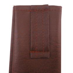Nr.: 2189 Gurtschnalle - Schwerttasche aus braunem Kunstleder 2189