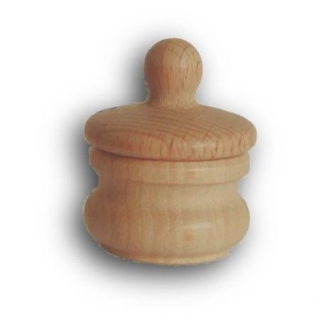 Nr.: 2732 Zahn-Holzdose mit Deckel - Holzladen24 2732