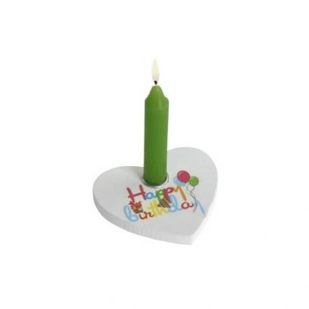 Nr.: 449545 Ein Kerzenhalter als Geburtstagsherz - Holzladen24.de 449545