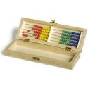 Nr.: 1689 Bürobox aus Holz mit Abacus - Holzladen24.de