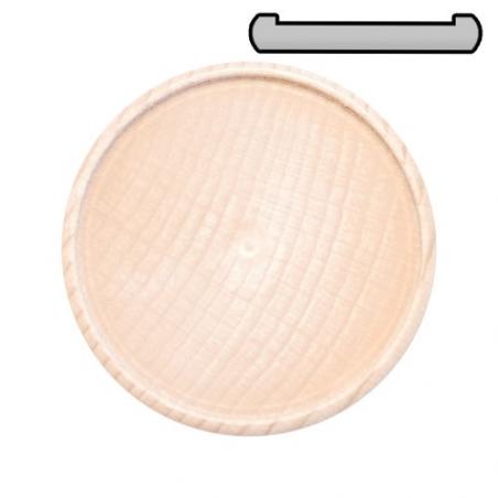 Nr.: 2265 Kleiner Buchenholz Glasuntersetzer - Holzladen24.de 2265