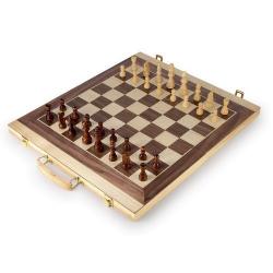 Nr.: 2853 Schach und Backgammon im Holzkoffer - Holzladen24.de
