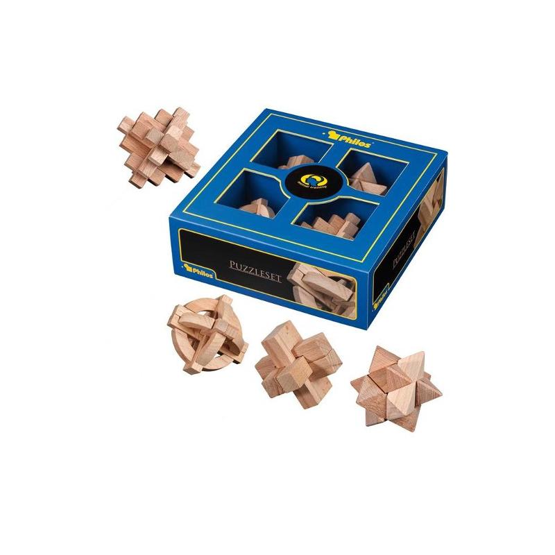Nr.: 3502 Puzzle Geschenkset II Buche - 3502 Philos Spiele