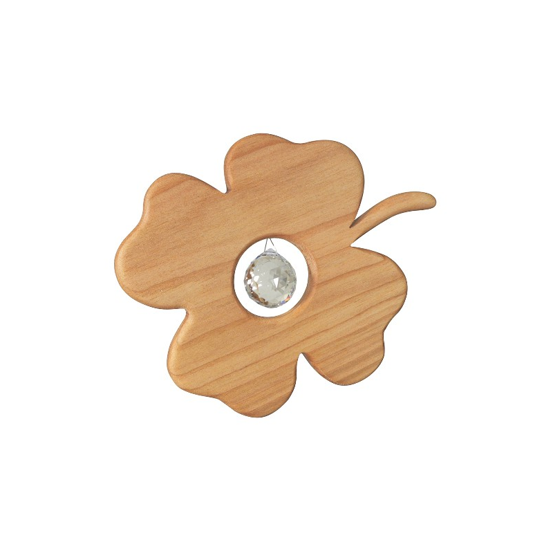 Nr.: 50313 Kleeblatt mit Swarovski® Kristall - Sternengasse 50313