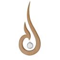 Nr.: 51010 Samira schwebend mit Swarovski® Kristall - Sternengasse 51010