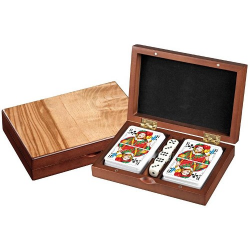 Nr.: 6656 Rommé-Karten mit Würfeln im Set - 6656 Philos Spiele