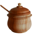 Nr.: TE-126kirsch Zuckerdose aus Kirschholz - Holzladen24 TE-126kirsch