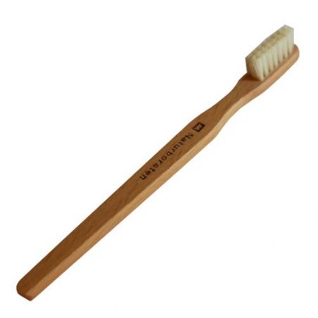 Nr.: 641044 gewachste Holzzahnbürste mit Naturborsten - Holzladen24.de 4037892410446