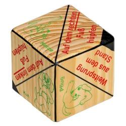 Nr.: 4595 Aktionswürfel aus Holz - 4595 Holzladen24.de