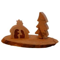 Nr.: 3157 Eine kleine Krippe aus Birke- Holzladen24.de 3157