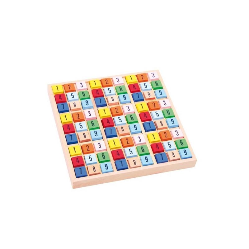 Nr.: 2117 Buntes Sudoku aus Holz - 2117 Holzladen24.de