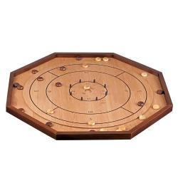 Nr.: 3311 Crokinole aus Holz - Philos Spiele 3311