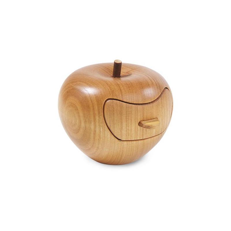 Nr.: 5083 Edler Apfel aus Holz mit Schubfach- Holzladen24.de 5083
