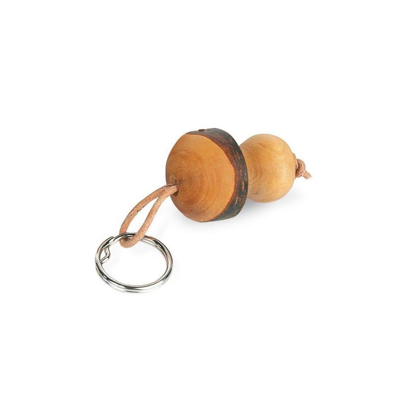 Nr.: 9101 Schlüsselanhänger kleiner Pilz aus Holz - 9101 Waldfabrik