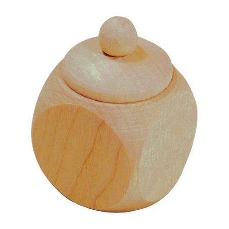 Nr.: 20816 Holzdose mit Schraubverschluss - Holzladen24 20816