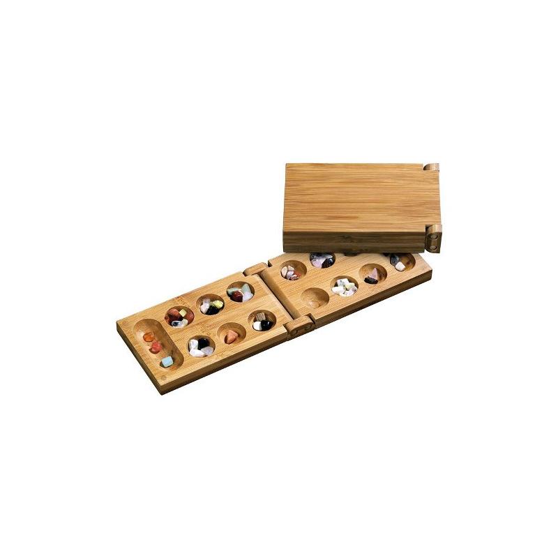 Nr.: 3258 Bambus Klapp-Kalaha - 3258 Philos Spiele