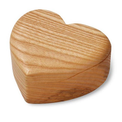 Nr.: 4557 Herz Schatulle aus Holz - Holzladen24 4557