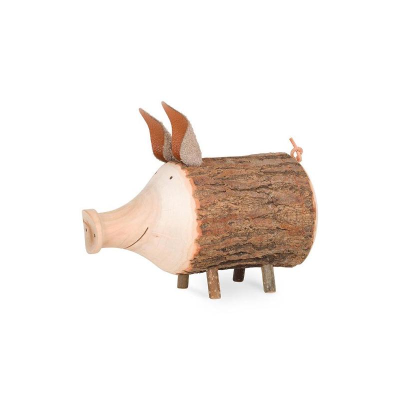 Nr.: 5077 Süßes Sparschwein aus Holz - Holzladen24.de 5077