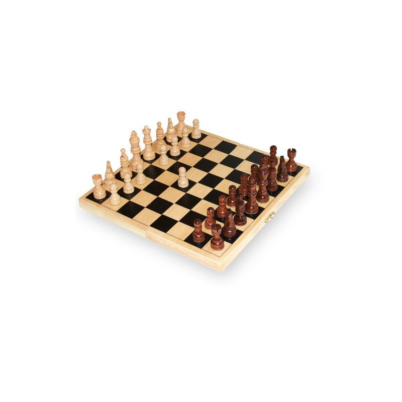 Nr.: 2044 Schachspiel in Klappkassette - Holzladen24.de 2044