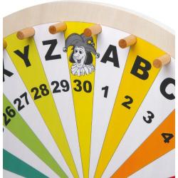 Nr.: 6251 Glücksrad aus Holz - Holzladen24.de 6251