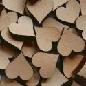 Nr.: 11HERZ 50 Herzen aus Buchenholz - Holzladen24.de 11HERZ